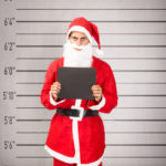 Santa Claus prisoner frontal view
