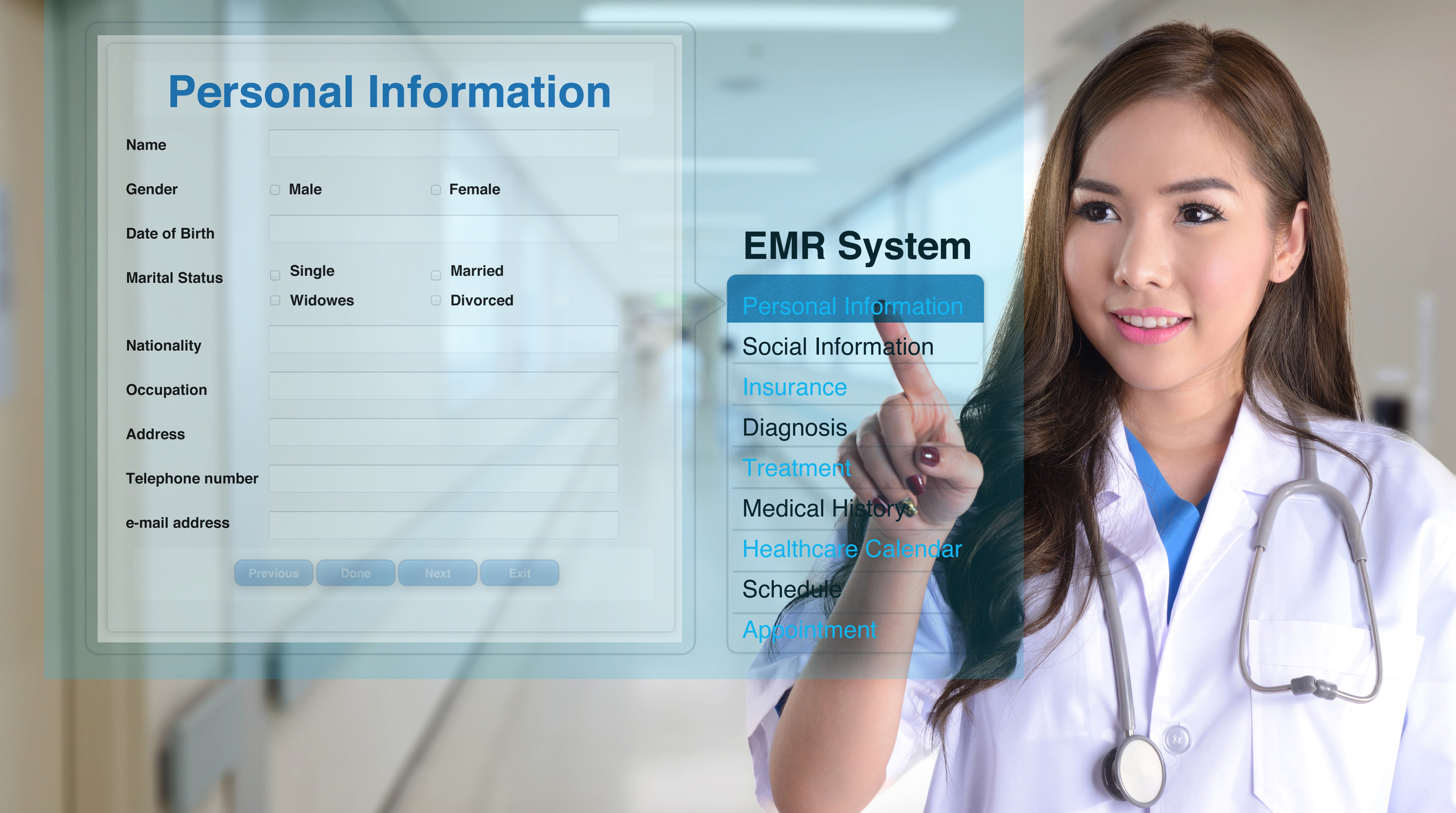 MedicScan autofill ID and insurance into EMR/EHR/PM