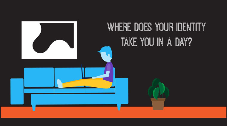 Where does your life take you in a day infographic