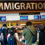 Immigration Customs Line