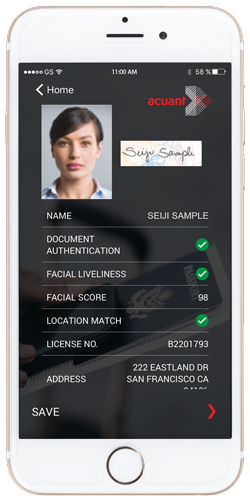 idScan® Go: Mobile ID Verification with Facial Recognition