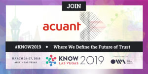 Acuant KNOW Conference Banner