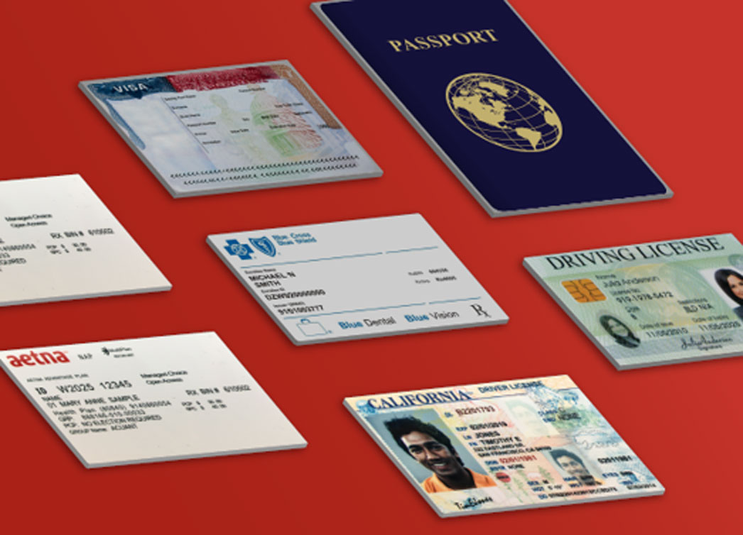 Acuant has the industry's largest identity document library with over 6,000 global documents