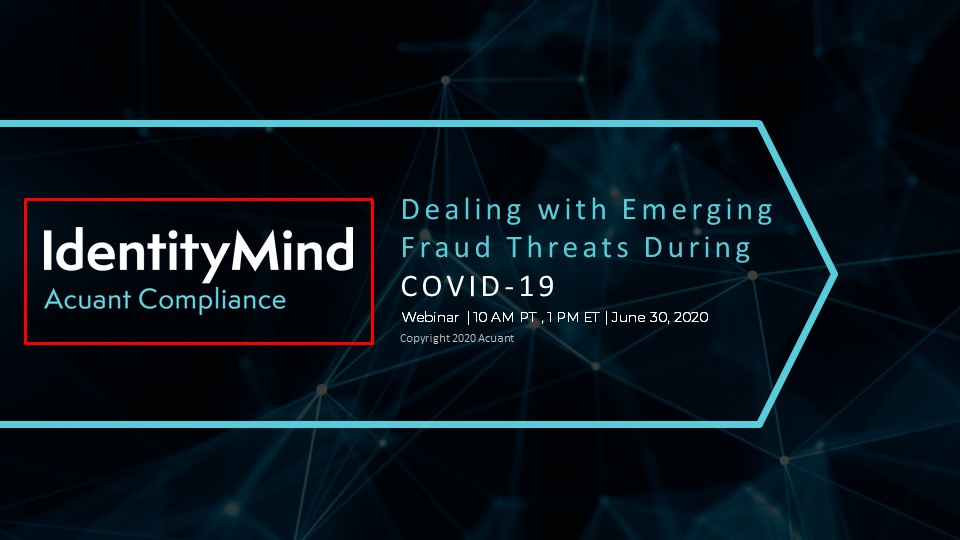 Fraud Trends During COVID-19 & What Businesses Need to Know