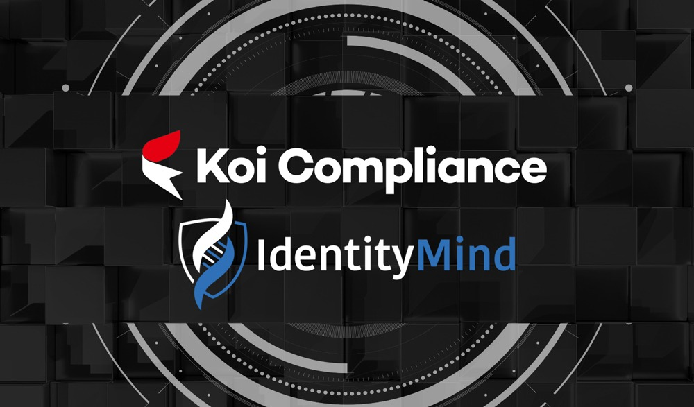 Koi Trading Unveils AML Compliance-as-a-Service Using IdentityMind Digital Identities Platform