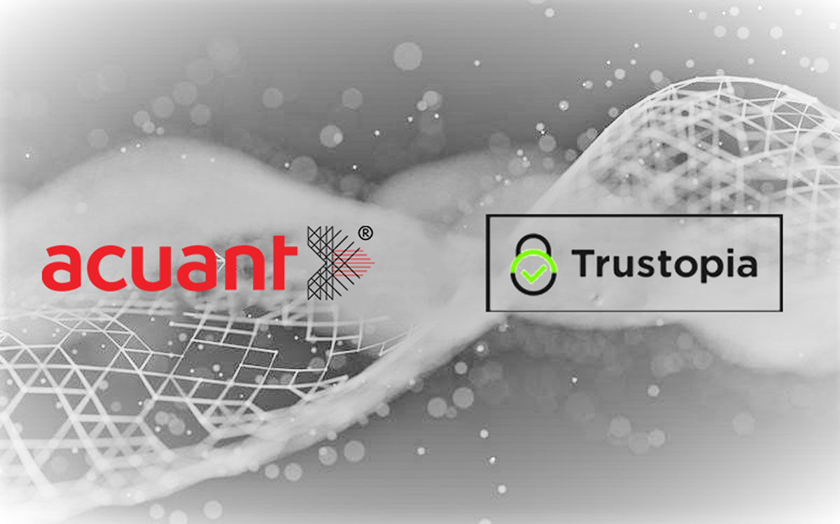 Trustopia Selects Acuant for Identity Verification to Set a New Digital Standard for Global People Screening
